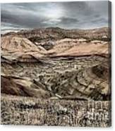 Faded Painted Hills Canvas Print