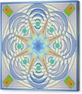 Fading Geometrics Canvas Print