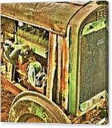 Fageol Tractor 2 Canvas Print
