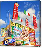 Fair Food Canvas Print