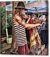 Faire Performers Canvas Print