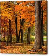 Fall At Home Canvas Print