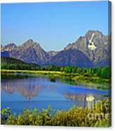 Fall At Oxbow Bend Canvas Print