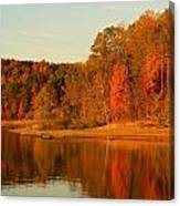 Fall At Patoka Canvas Print