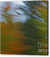 Fall Blur Canvas Print