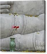 Fall Buddha #1 Canvas Print
