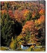 Fall Color West Virginia Canvas Print