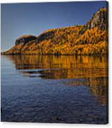 Fall Colours In The Squaw Bay II Canvas Print