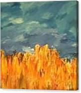 Fall Crops Canvas Print