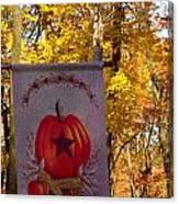 Fall Flag 1 Canvas Print
