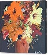 Fall Flower Arrangement 1 Canvas Print