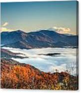 Fall Fog 2 Canvas Print