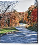 Fall Foliage On The Blue Ridge Parkway Canvas Print