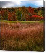 Fall Golf Canvas Print