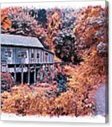 Fall Grist Mill Canvas Print