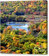 Fall Lake Canvas Print