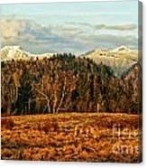 Fall Landscape-hdr Canvas Print