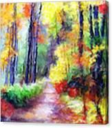 Fall Melody Canvas Print