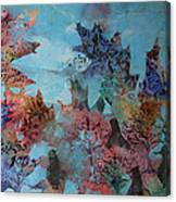 Fall Oaks Canvas Print