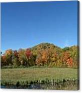 Fall River Mountain Canvas Print
