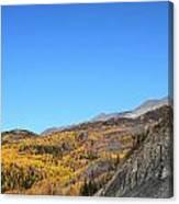 Fall Talkeetna Mountains Canvas Print