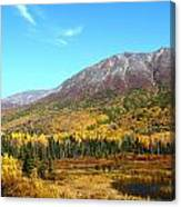 Fall Valley Canvas Print