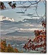 Fall View From Roanoke Mountain Canvas Print