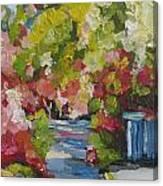 Fallen Blossoms Canvas Print
