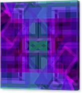 Falling Magenta 2 Canvas Print