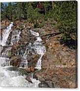 Falling Water Glen Alpine Falls Canvas Print