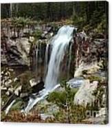 Falls At Newberry Canvas Print