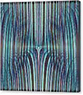 Falls Of Blue Canvas Print