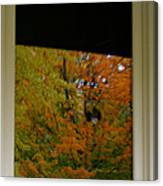 Fall's Reflective Moment Canvas Print