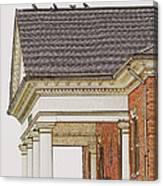 Fancy Arcitecture Canvas Print