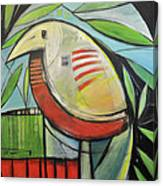 Fancy Bird Canvas Print