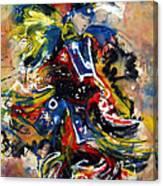 Fancy Dancer I Canvas Print