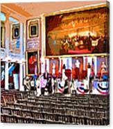 Faneuil Hall Canvas Print