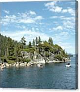 Fannette Island Boat Party Canvas Print