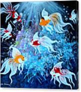 Fantailia Canvas Print