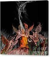 Fantasy Circle Canvas Print