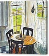 Farm House Kitchen Canvas Print
