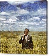 Farm Life - A Good Crop Canvas Print