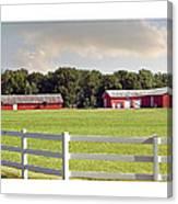 Farm Pasture Canvas Print
