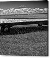 Farm Wagon In A Field On Prince Edward Island Canvas Print