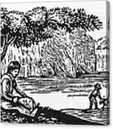 Farming: Almanac Cut Canvas Print
