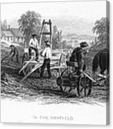 Farming, C1870 Canvas Print