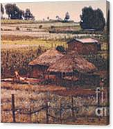 Farming In The Rift Valley Canvas Print