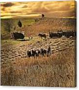 Farming To Beat The Storm Canvas Print