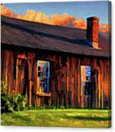 Farrier's Shed Canvas Print