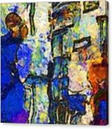 Fashion 344 Canvas Print